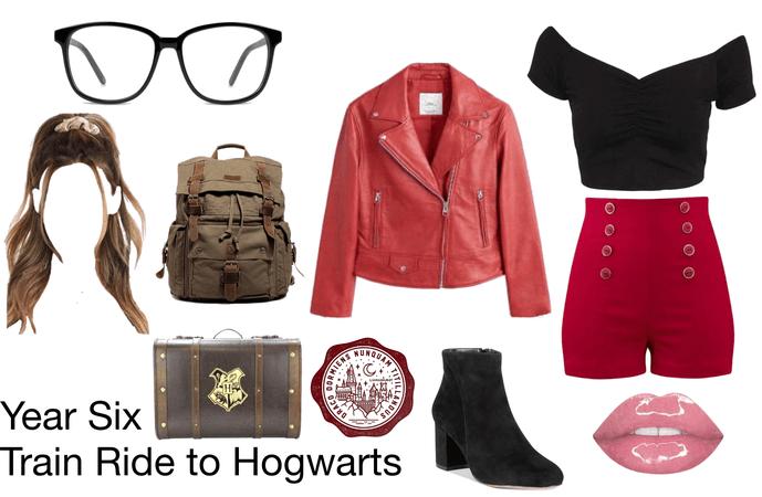 Year Six - Train Ride to Hogwarts