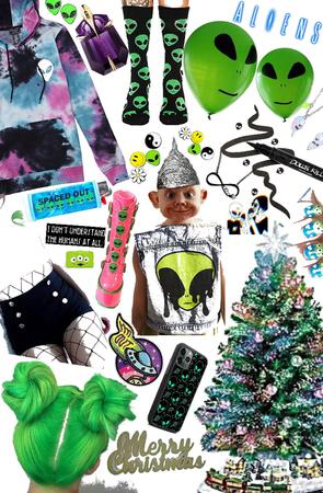 alien 👽 Christmas 🎄