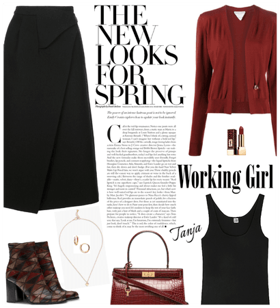 First days of Spring/Working Girl