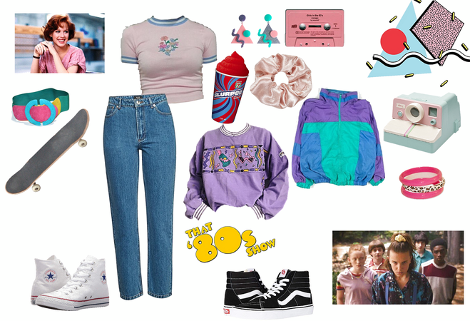 """girls that's """"stuck in the 80s"""""""