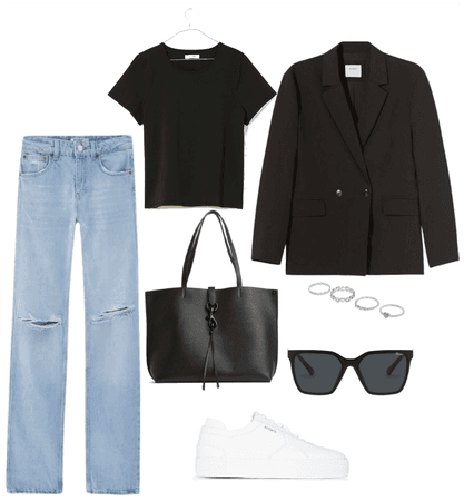 Blue Jeans Office style