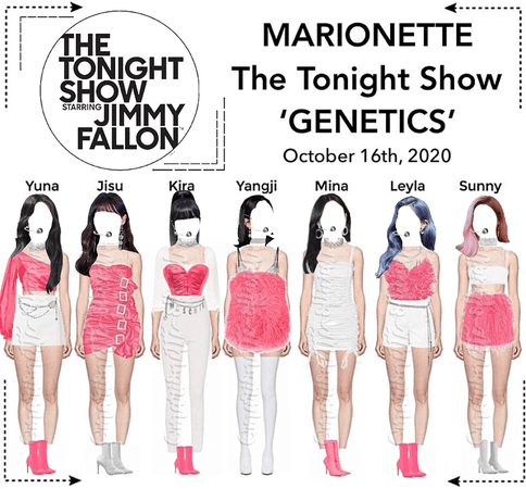 MARIONETTE (마리오네트) The Tonight Show Starring Jimmy Fallon