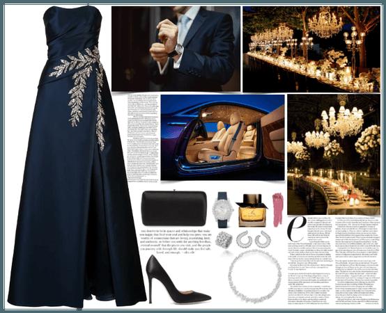 a luxury virtual prom look