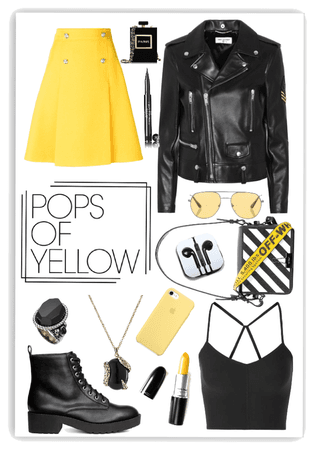 a pop of yellow 🌟