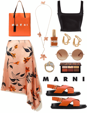 Marni label outfit challenge