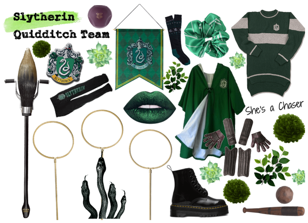 Slytherin Quidditch Outfit