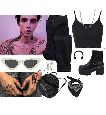 Night out w/ Andy Biersack