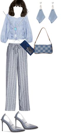 the stylist blue