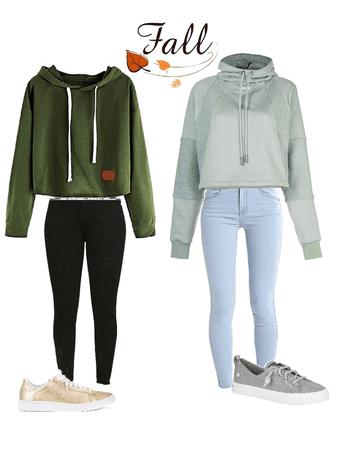 Skinny jeans and Hoodie season