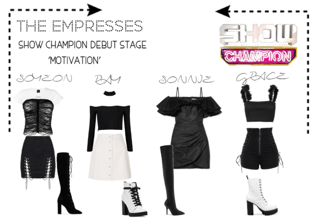 [THE EMPRESSES] DEBUT STAGE- SHOW CHAMPION