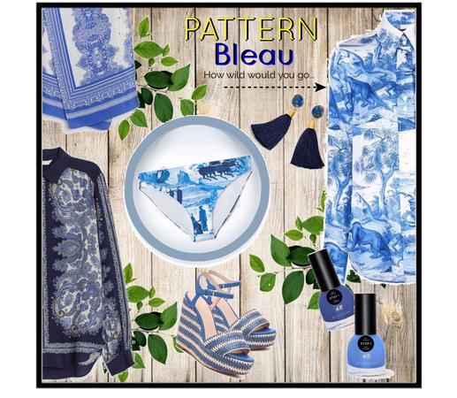 Pattern BLEAU ...
