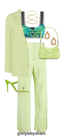monochromatic outfit - green ☘️