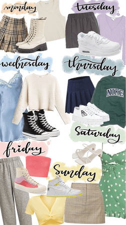 weekly outfit challenge