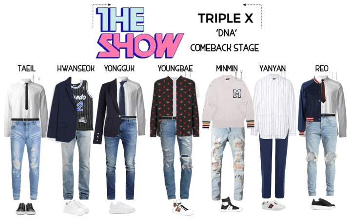 {TRIPLE X} 'DNA' Comeback Stage