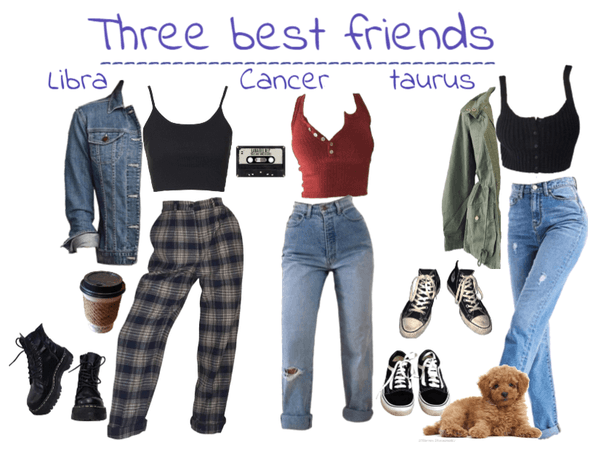 The Star Signs as friends