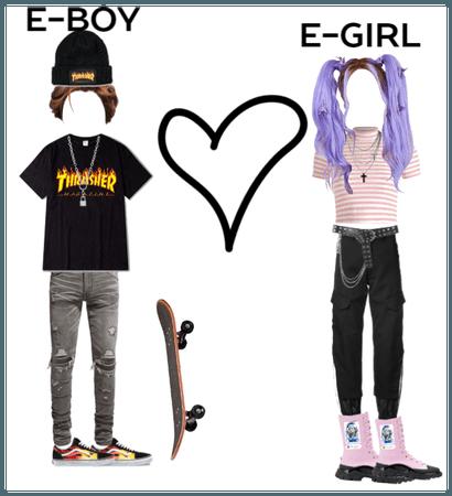 E-girl and E-boy