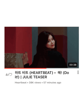 [HEARTBEAT] JULIE 'DO IT!' SOLO M/V TEASER