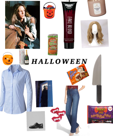 Laurie strode diy outfit or Halloween costume