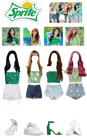 Blackpink Sprite Outfit