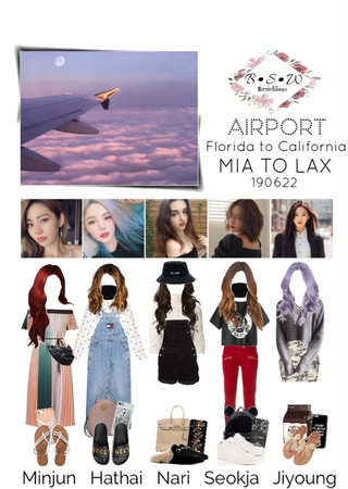 BSW Airport Fashion 190622 - Night Flight