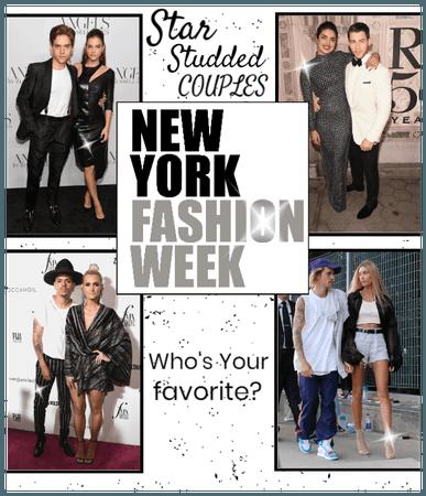 Star Studded Couples @ NYFW