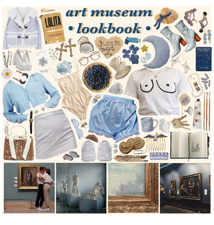 art museum lookbook