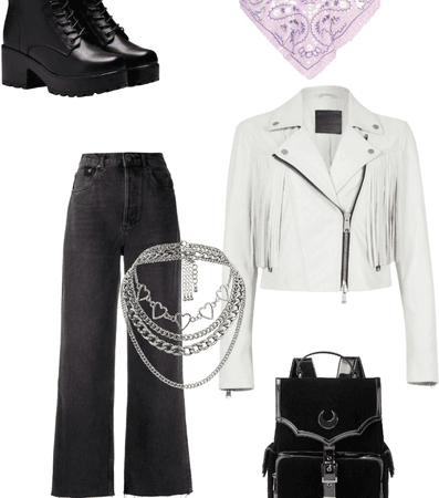 Biker outfit