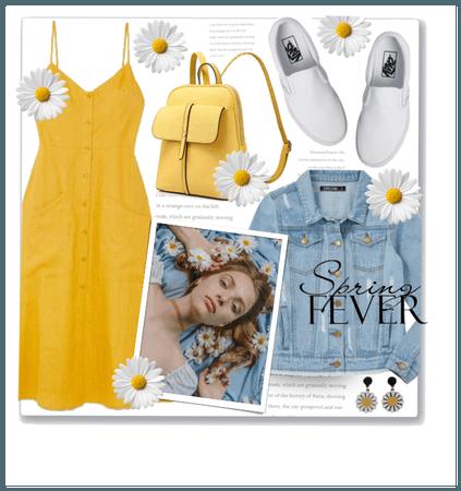 Daisy Midi Dress Style.