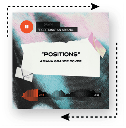 𝓓𝓐𝓦𝓝   'POSITIONS'   ARIANA GRANDE COVER