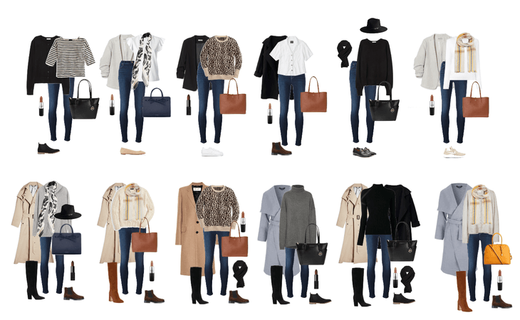 Early & Late Fall Go-To Outfits