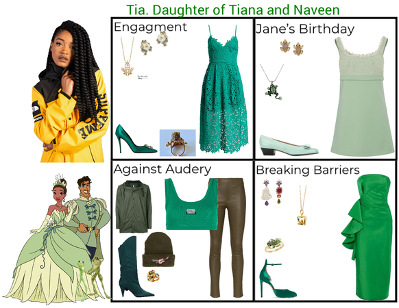 Tia. Daughter of Tiana and Naveen. Descendants 3