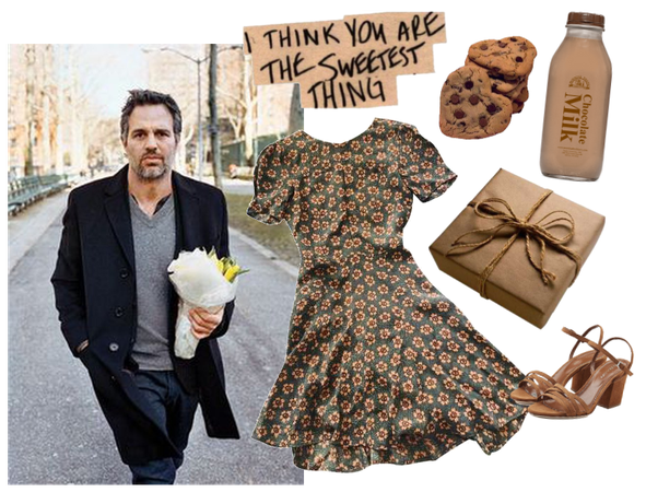 Giving Mark Ruffalo cookies (short story in the d)