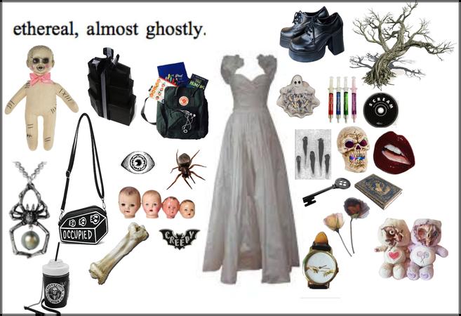 creepy wedding