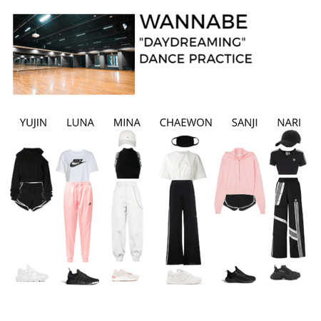 "WANNABE | ""Daydreaming"" - Dance practice"