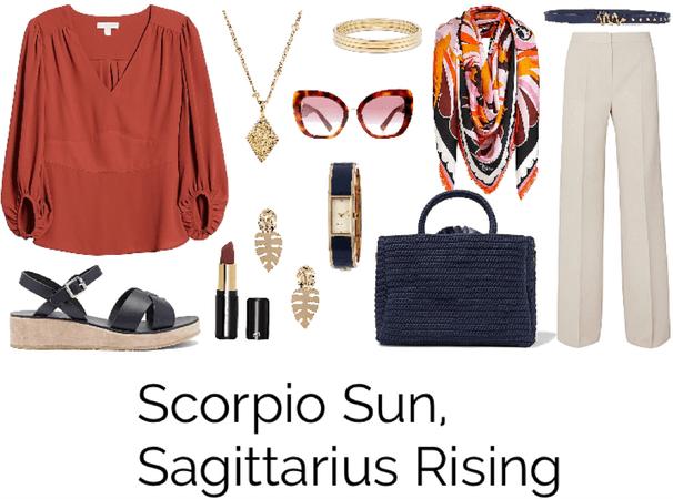 Scorpio Sun, Sagittarius Rising