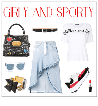 Bold Girly and Sporty