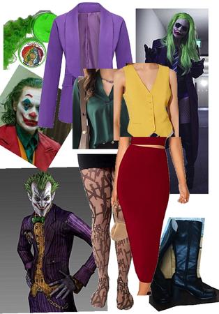 Joker cosplans