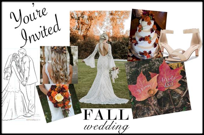 Fall Wedding Idea