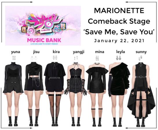 마리오네트 (𝗠𝗔𝗥𝗜𝗢𝗡𝗘𝗧𝗧𝗘) - [MUSIC BANK] Comeback Stage