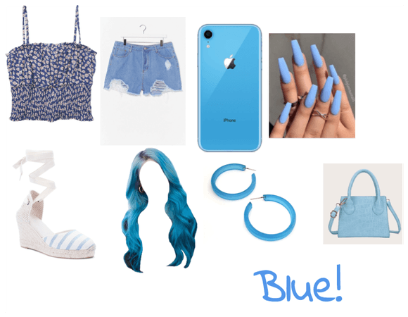Blue outfit! Summer/Spring