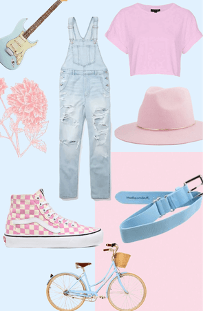 Baby Blue & Pink