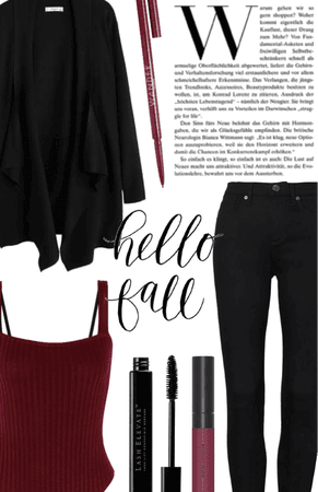 maroon and black