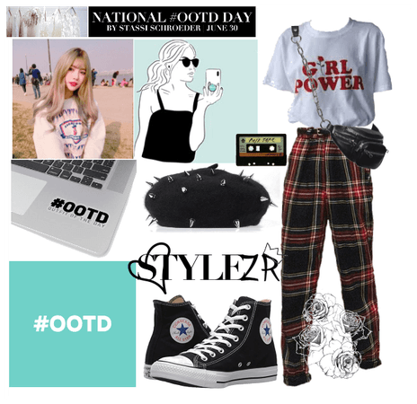 #OOTD National Day Style!!