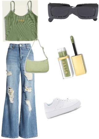 sage green pick