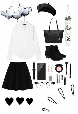 Putting it on Black & White