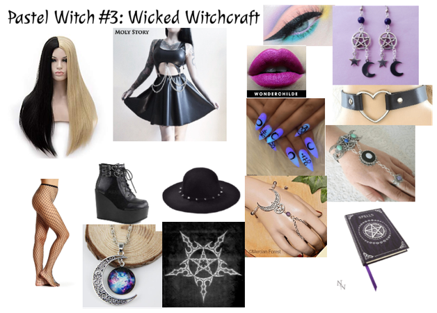 Pastel Witch #3: Wicked Witchcraft