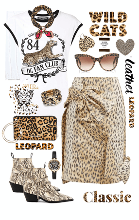 Leopard Leather and D&G