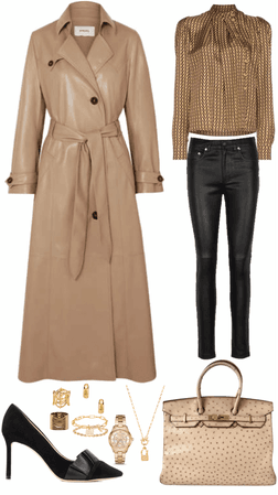 Winter camel serious outfit