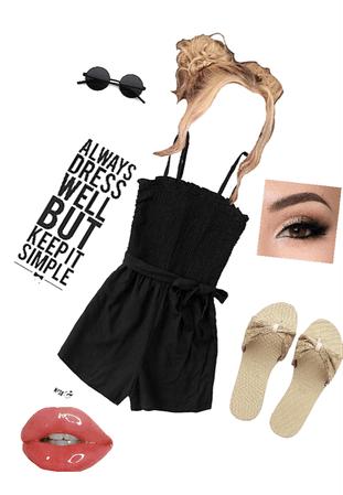 a cute teen summer outfit