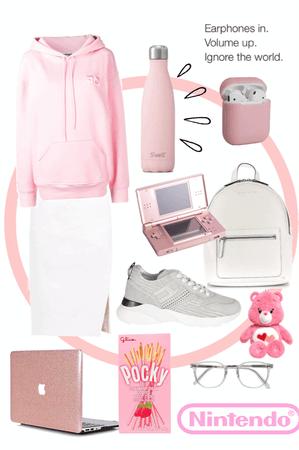 Pink Go Go Squid fusion
